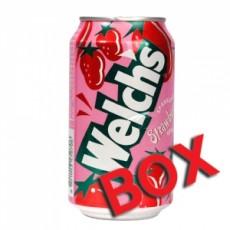 웰치스 딸기