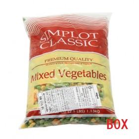 심플로트 혼합5종 냉동야채