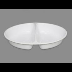 타원접시 285-2칸(백색)사출200EA